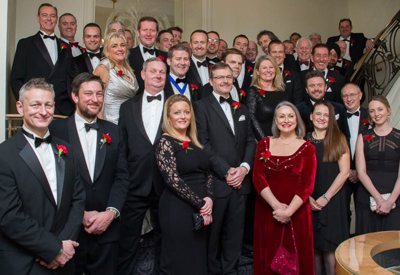 39 new fellows celebrate at the fellows dinner
